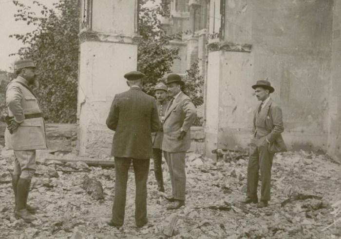 Le 2 mai 1916 : mission espagnole (MM de la Huerta et de Nos)