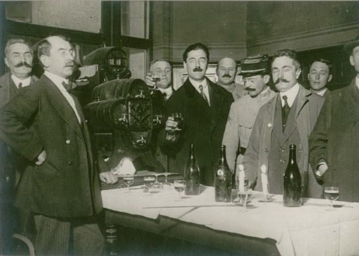 Le 18 octobre 1916 : mission des journalistes neutres