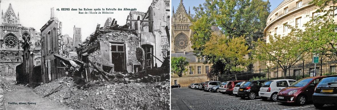 Rue de l'Ecole de médecine - ReimsAvant - Montage : Véronique Valette