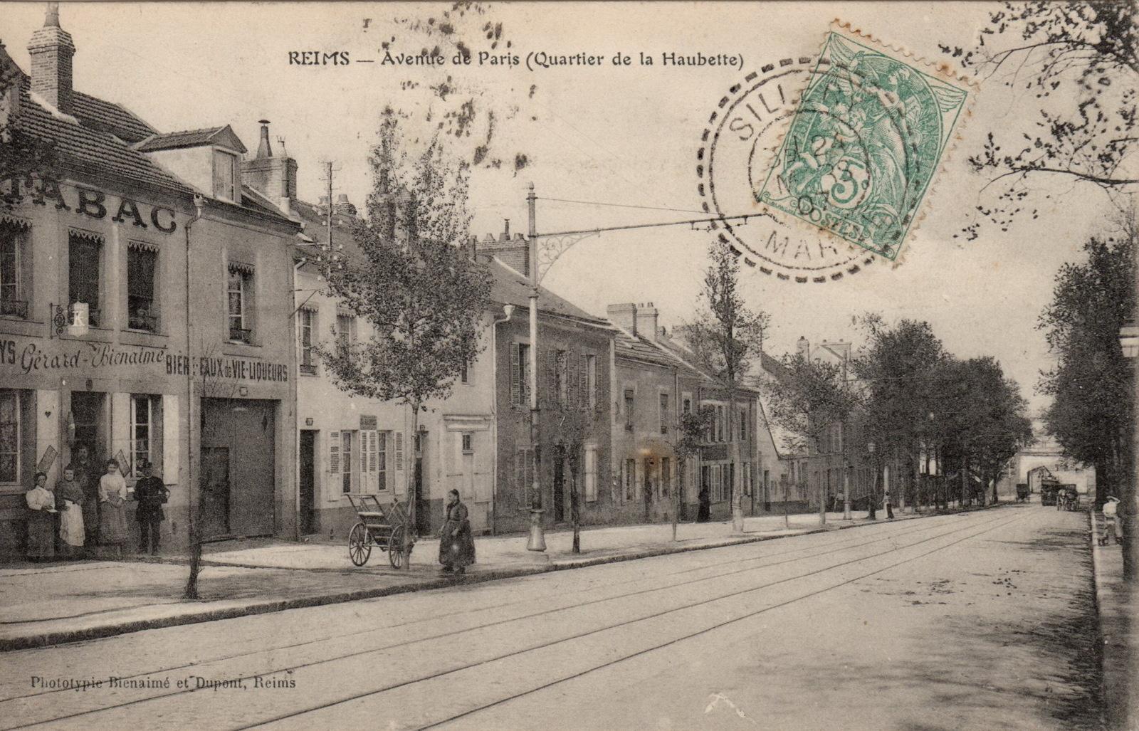 Avenue de Paris - CPA : collection Pierre Fréville