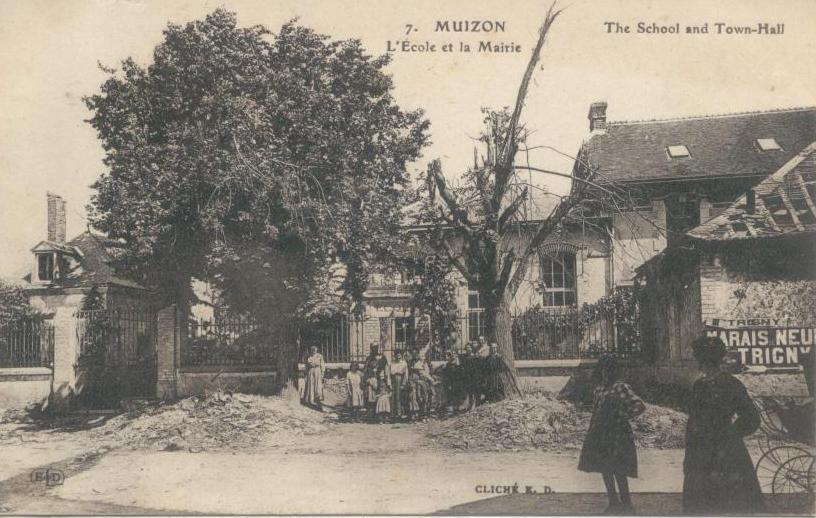Muizon, sur la route de Soissons