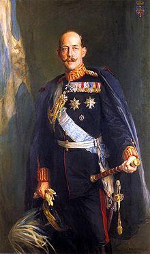 Constantin Ier par Philip Alexius de László - photo Wikepédia