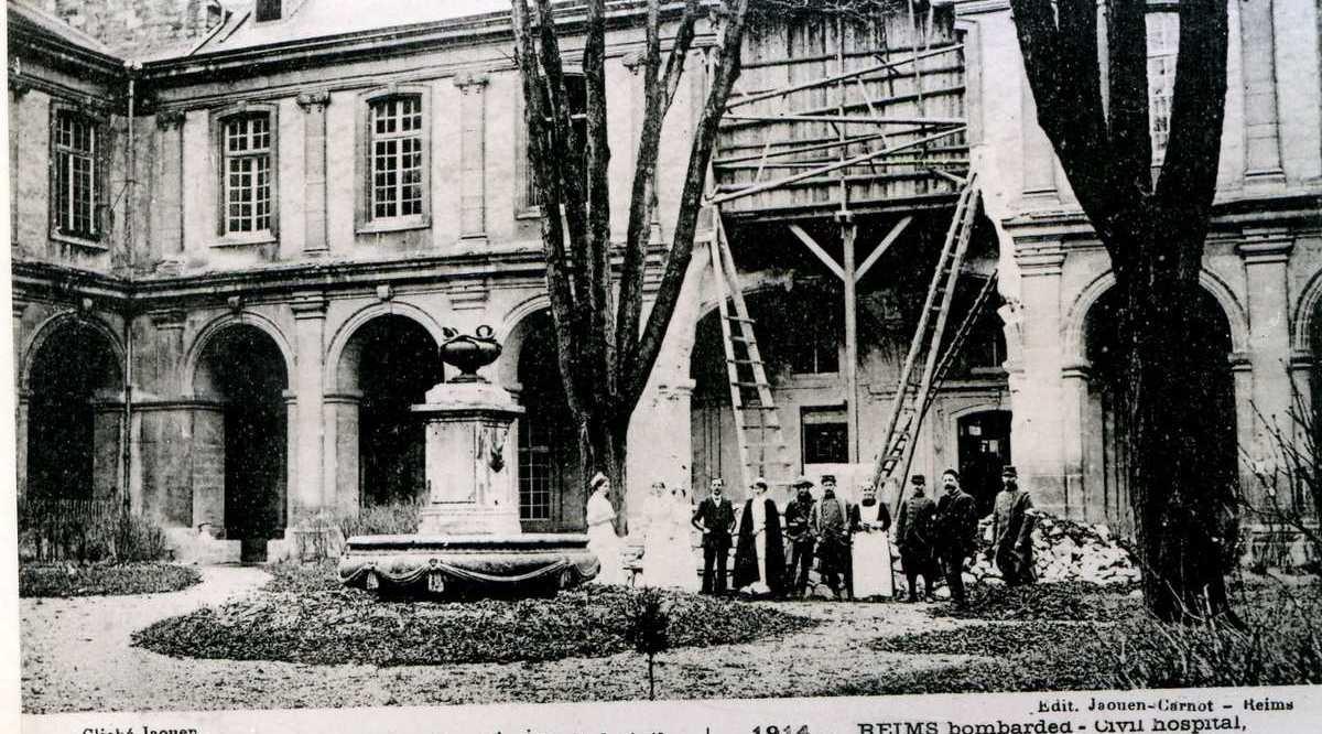 Hôpital Civil, près de Saint-Remi