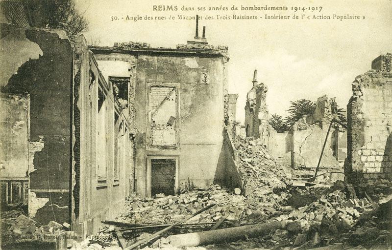 Reims 14-18 - 8h du matin, le 2 avril 1918