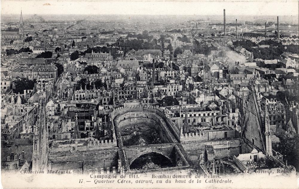 Vue aérienne de la ville