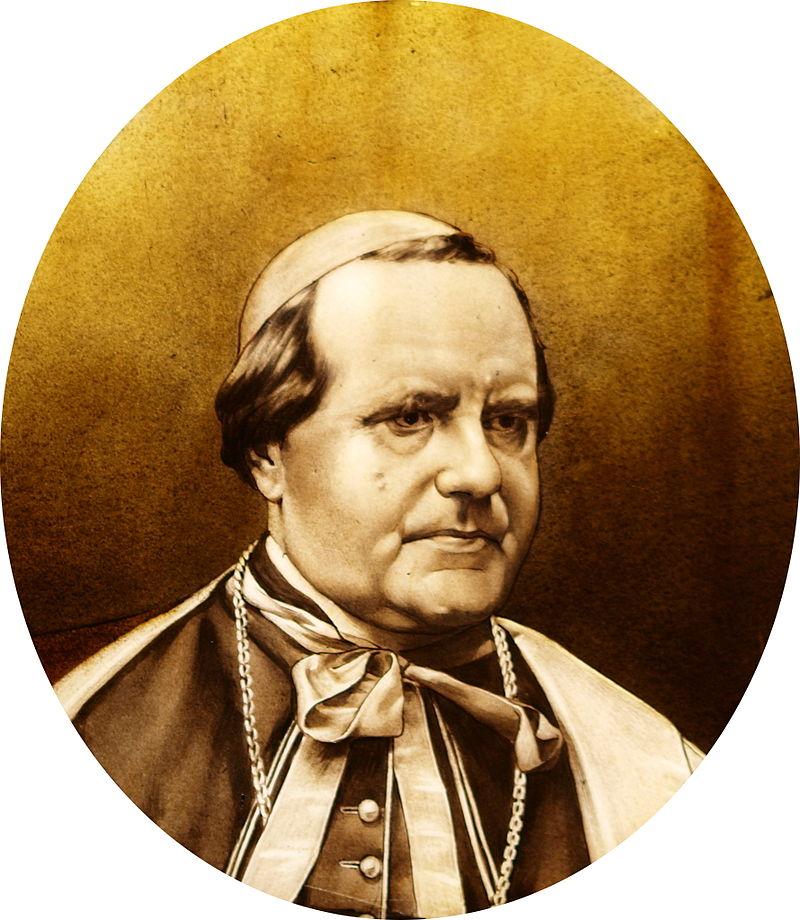 Le Cardinal Langénieux- Vitrail de l'élise de Louvergny (08)