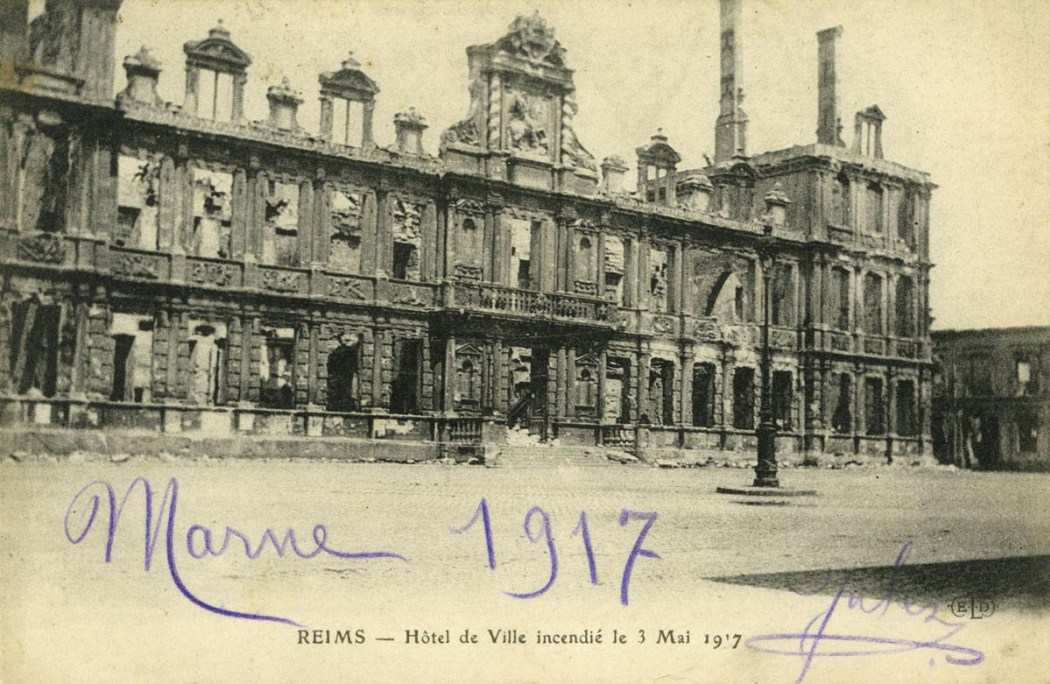Incendie de l'Hôtel de Ville